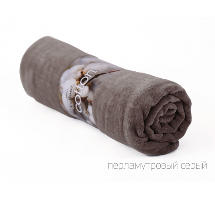 "Полотенце VELOUR SOFT TOUCH ""Серый"""
